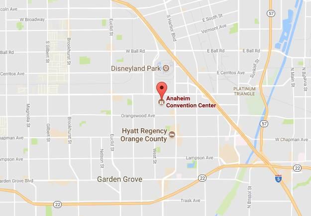 Partners LA Conf Centre Map